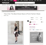 All You Need Is Style Paris Fashion Week Popsugar