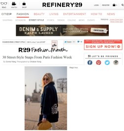 All You Need Is Style Paris Fashion Week Refinery 29